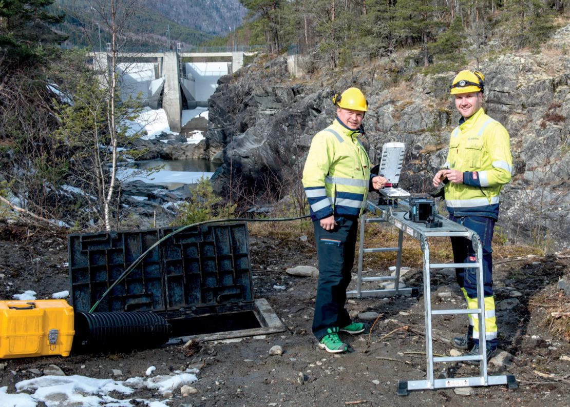 Helge Arne Bekkemellem til venstre og John Tore Ulsletten